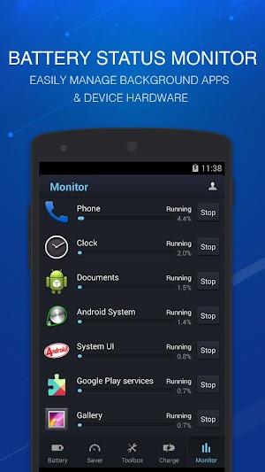 4 DU Battery Saver丨Power Doctor App screenshot