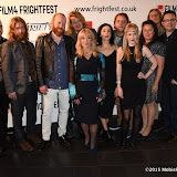 OIC - ENTSIMAGES.COM - Toyah Willcox, Steve Oram and cast at the Film4 Frightfest on Friday of  AAAAAAAAH UK Film Premiere at the Vue West End in London on the 28th August 2015. Photo Mobis Photos/OIC 0203 174 1069