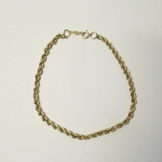 14K Gold Bracelet NO CLASP