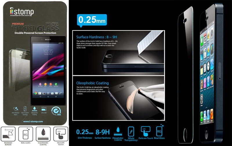 Tempered Glass Screen Protector for Samsung Galaxy Core 1 (i8262). Source · XPro