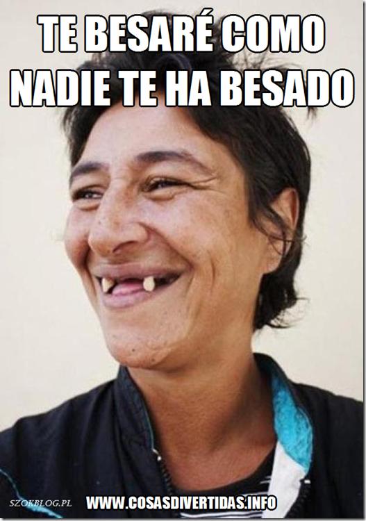 BESO DESDENTADO