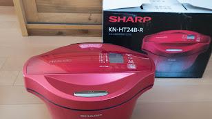 SHARP ヘルシオ ホットックック KN-HT24B-R