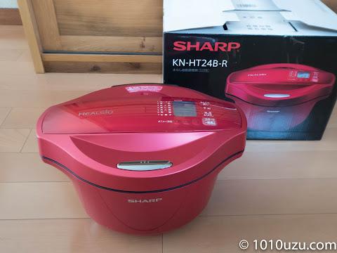 SHARPヘルシオ ホットックックKN-HT24B-R