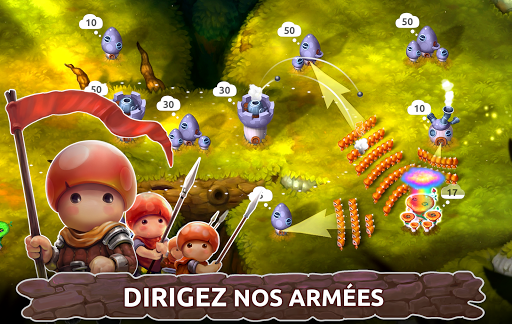 Télécharger Mushroom Wars 2 - RTS et Tower Defense Épique mod apk screenshots 6