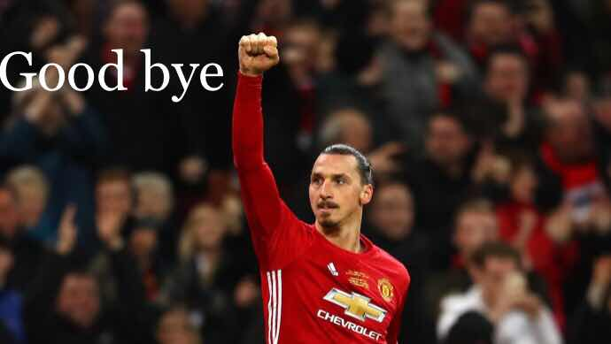 Official: Ibrahimovic leaves Manchester United