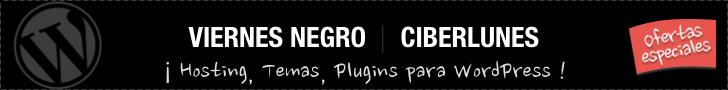 Ofertas de WordPress Viernes Negro y Ciberlunes 2015