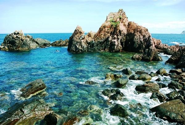 Khám phá biển Kỳ Co và lặn ngắm san hô tại Hòn Sẹo