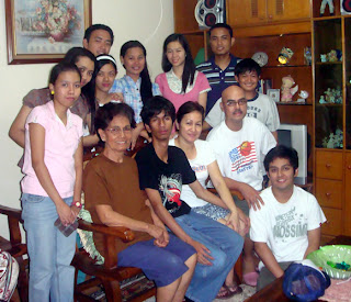 March 21: jerrold Domingo with Parents, Brother and Sister (Malabon City)