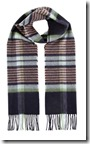 Johnstons of Elgin cashmere merino plaid scarf