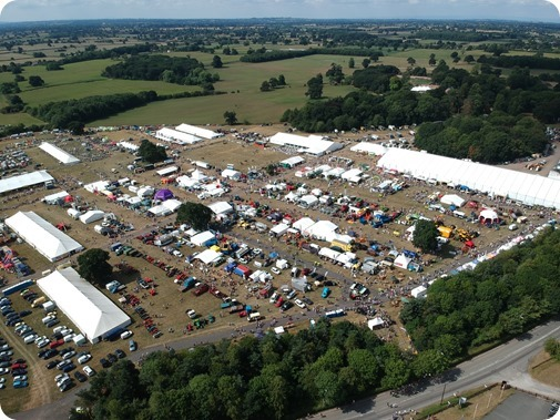 Aerial view of The Nantwich Show  (1)