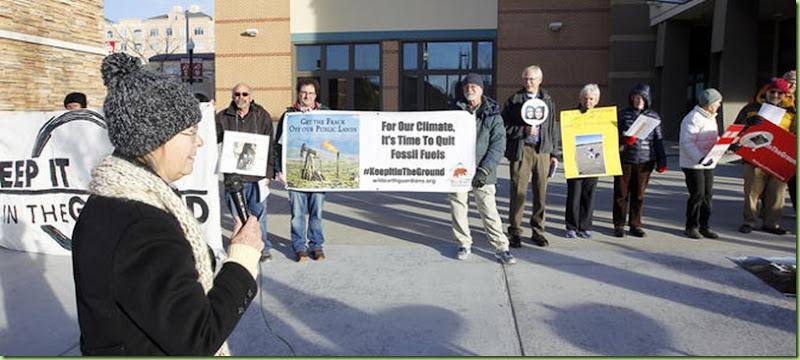 BLM aution protest