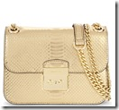 Michael Michael Kors Metallic quilted leather bag - other colours