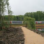 Base de loisirs : voie ferrée Paris-Montargis-Dijon