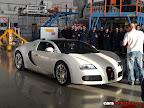 White Bugatti Veyron