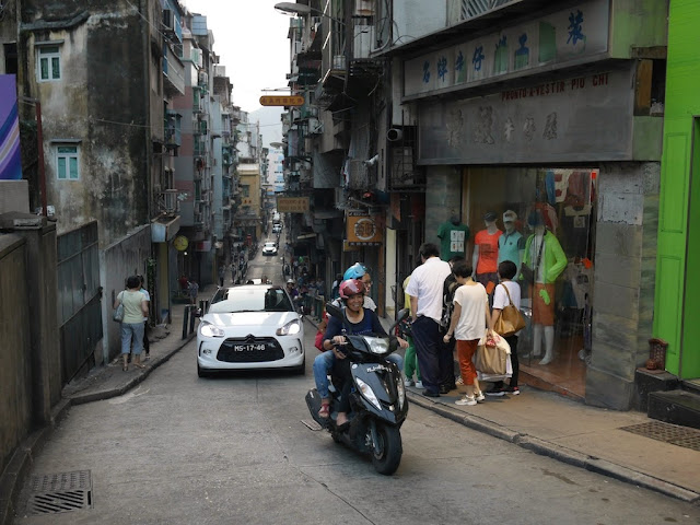 Calçada do Botelho in Macau