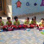 A Dinosaur Tea Party Celebrated by Jr Kg at Witty World, Chikoowadi(2018-19)