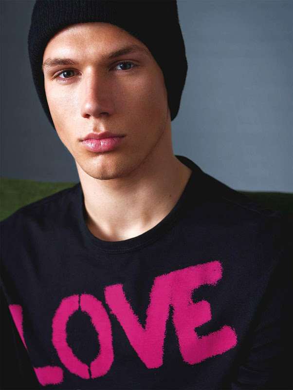 Timmi Radicke @ Ford by Adam Whitehead for Versace Jeans, F/W 2011
