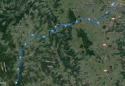 Grand Trail du Saint-Jacques - parcours