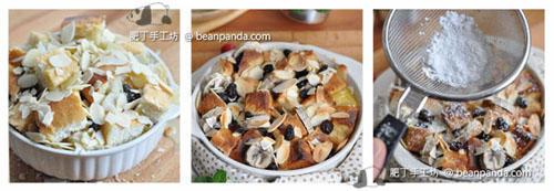 椰糖香蕉麵包布甸Coconut Bread Pudding_step05