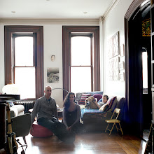 Photo: title: Elisa Albert, Ed +Miller Schwarzschild, Albany, New York date: 2016 relationship: friends, art, met atVirginia Center for the Creative Arts Residency Program years known: 0-5