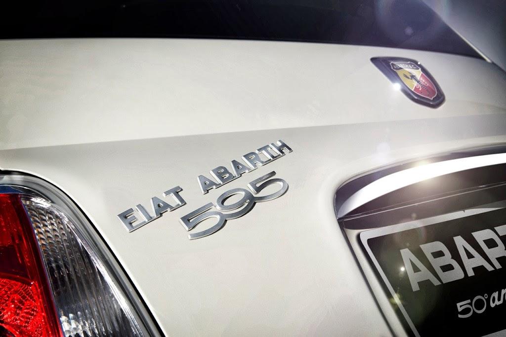Fiat Abarth 595 50th Anniversary Edition 6