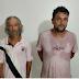 Foram presos em Peritoró...