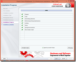 install-oracle-weblogic-infrastructure-10