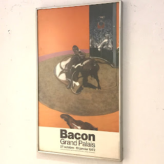 Francis Bacon Framed Exhibition Poster