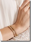 Chan Luu gold plated wrap bracelet