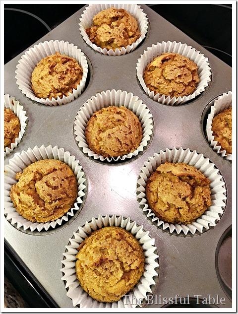 cocount flour pumpkin muffins 1a