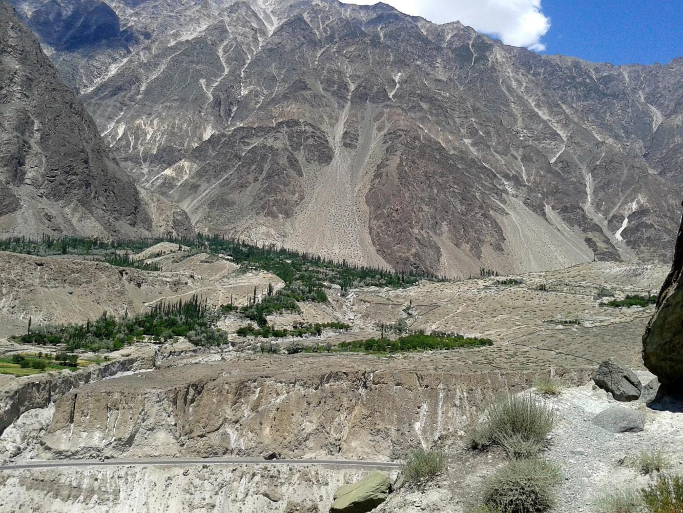 View towards Hunza from Pissan-Nagar
