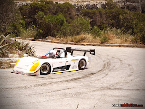 Single seater hill climb racer