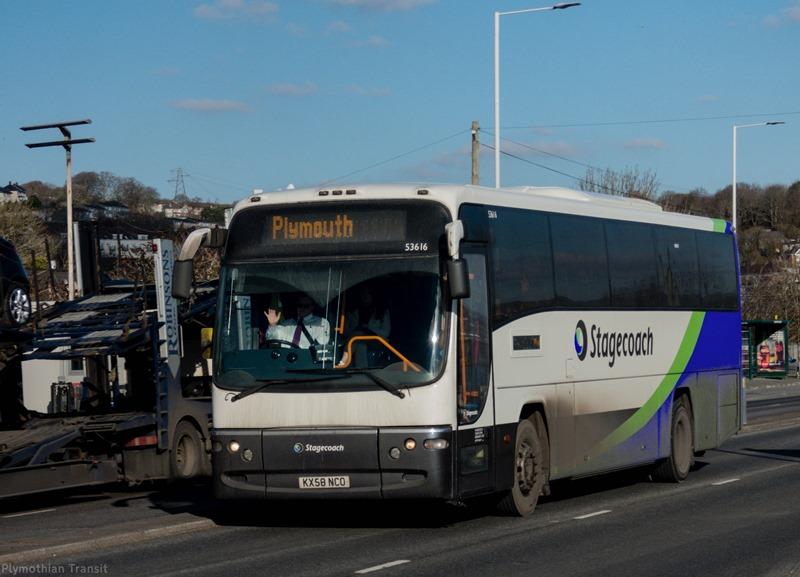 Stagecoach Devon KX58NCD