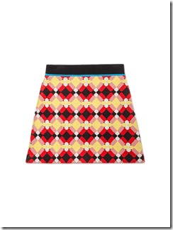 MARNI BLINKY COLLECTION XMAS 2016 - skirt