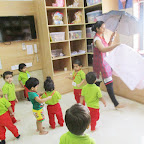 UMBRELLA TOSS ACTIVITY( PLAYGROUP) AUGUST 31, 2016