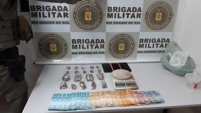 Quarteto é preso por tráfico de drogas em Gravataí