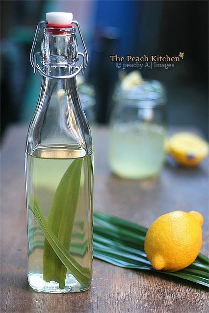 Pandan Lemonade | www.thepeachkitchen.com