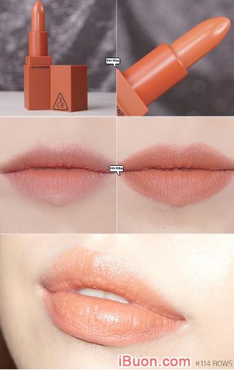 Bộ sưu tập Son lì 3CE Mood Recipe Matte Lip Color của Hàn Quốc + Hình 4