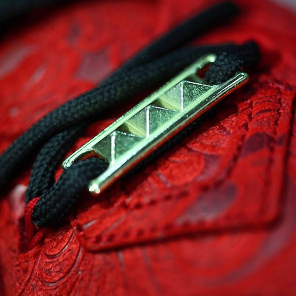 Coming Soon LeBron 12 EXT Red Paisley aka Kings Cloak
