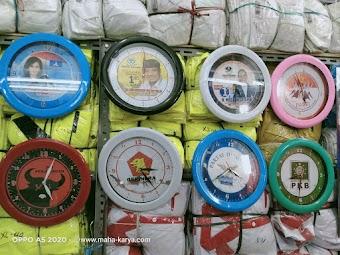 JAM DINDING PARTAI DAN ORMAS / GOLKAR/ NASDEM / PAN/ KNPI/ PERUSAHAAN