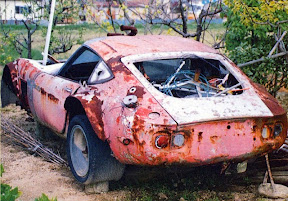 Abandoned Rusted Toyota 2000GT