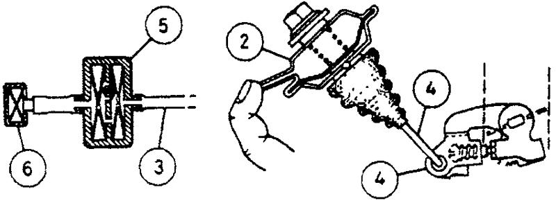 Проверка демпфера дроссельной заслонки - Suzuki SJ 413 & Vitara