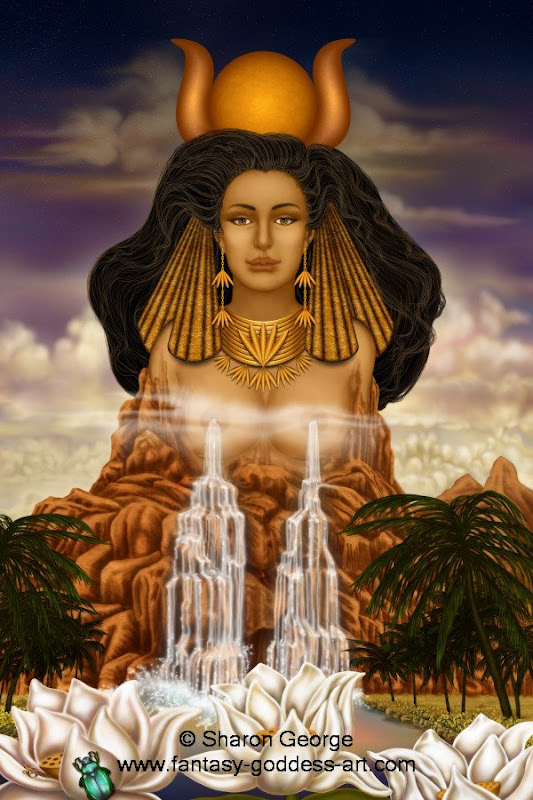 Hathor, Egyptian Magic