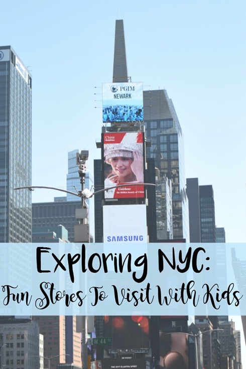 New York City: Fun Stores to Visit with Kids by Not in Jersey