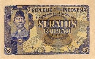 gambar uang kuno 100 rupiah