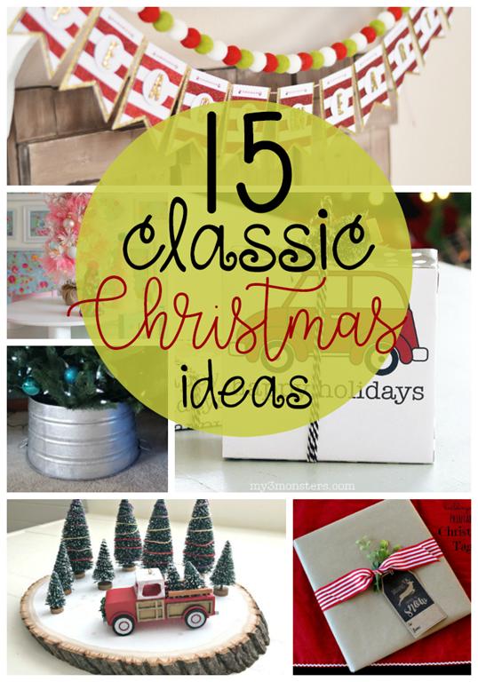 [15+Classic+Christmas+Ideas+at+GingerSnapCrafts.com+%23Christmas+%23holiday+%23decor%5B8%5D]