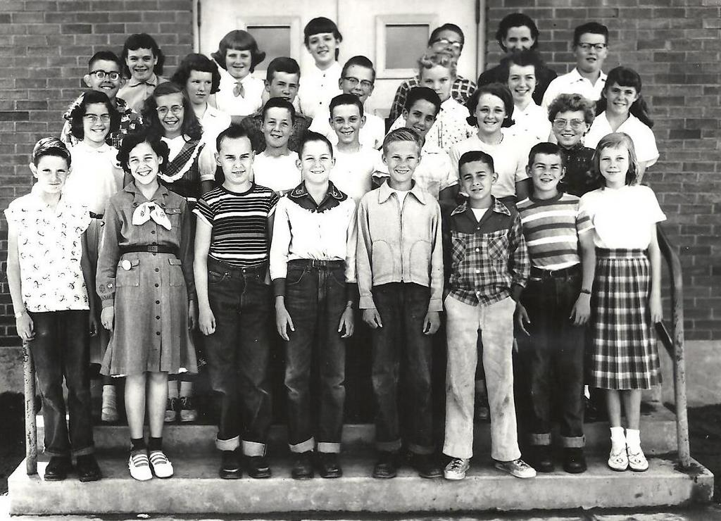Sixth Grade with Mrs Lester-1955
