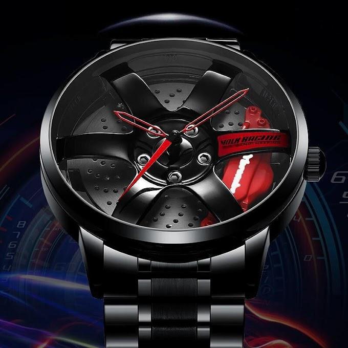 Que tal um relógio para quem ama carros?