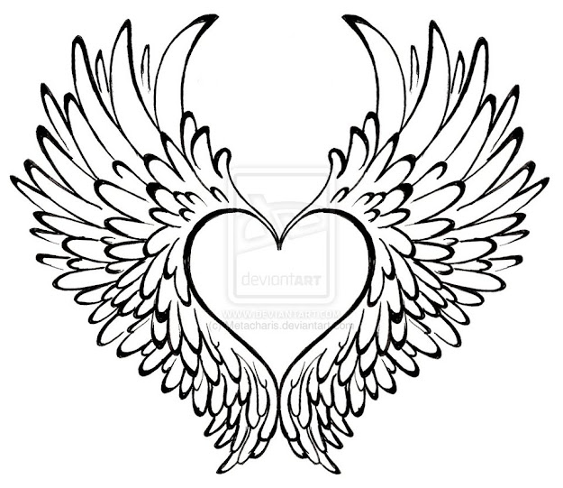 Heart With Wings Tattoo By Metacharis On Deviantart