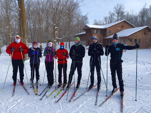 Benilde St Margaret ski team Saturday morning